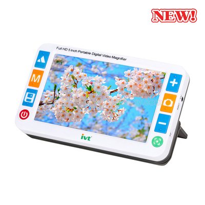 IVT VD600S 5 inch Hand-hold Electronic Video Magnifier for Low Vision Reading